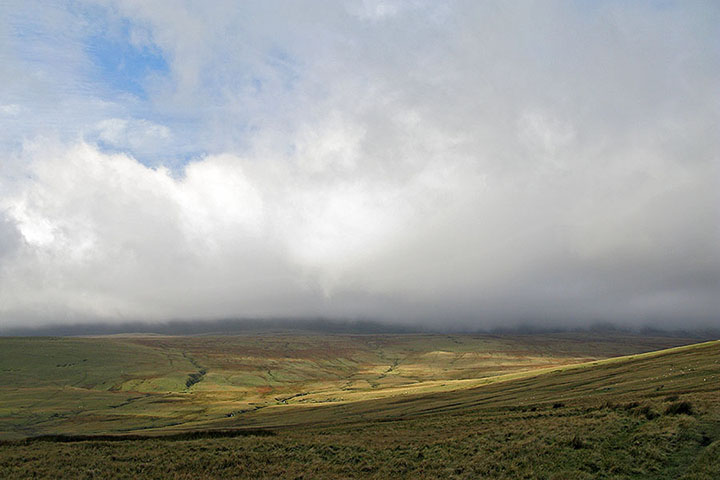 Fan Brycheiniog Still Shrouded in Cloud